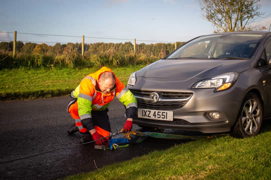 How to keep safe when you've broken down at the side of the road
