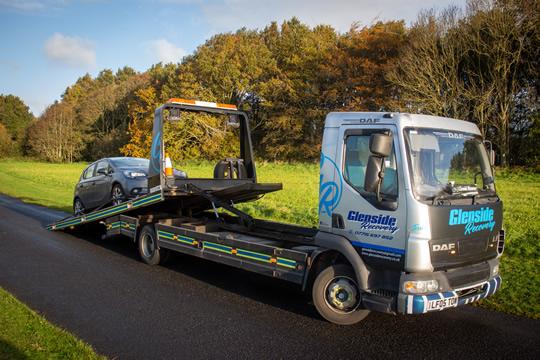 Glenside Recovery - Car Loading