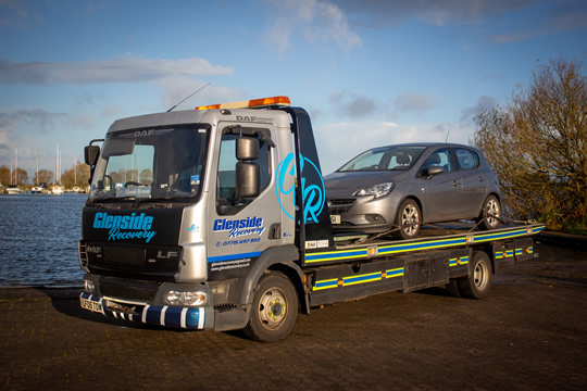 Glenside Recovery - New Car Delivery