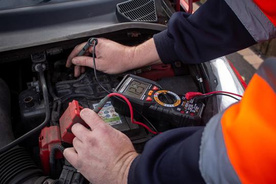 Glenside Recovery - Roadside Assistance Faulty Battery