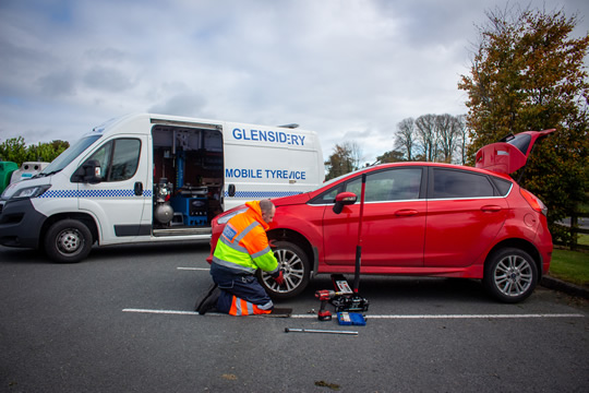 Glenside Recovery - Onsite Mobile Tyre replacement